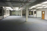 image after the office clearance in central london showing site swept clean